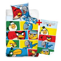 Výhodná sada pro kluky bavlněné povlečení a osuška Angry Birds