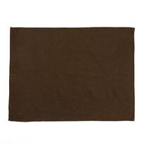 Ścierka kuchenna niebielona brązowa, 50 x 70 cm
