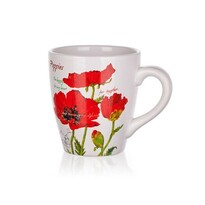 BANQUET Red Poppy hrnek 500 ml