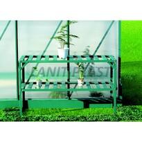 LanitPlast LanitGarden AL regál dvoupolicový zelený