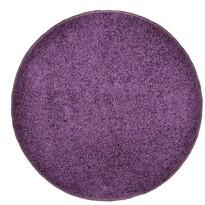 Kusový koberec Elite Shaggy fialová,priemer 120 cm