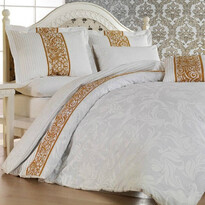 Bavlnené obliečky Angelika béžová, 140 x 200 cm, 70 x 90 cm