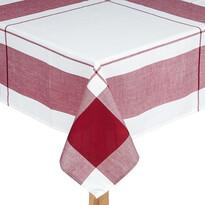 Obrus kocka bordó, 140 x 180 cm