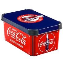 Curver 04710-C12 plastový úložný box S, Coca-Cola, 29,5 x 13,5 x 19,5 cm