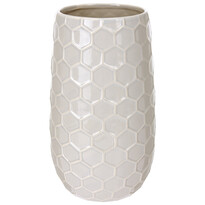 Wazon ceramiczny Honey, beżowy