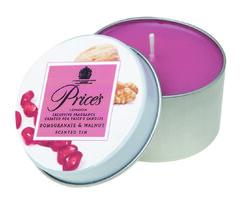 Price's świeczka zapachowa w puszce granat i orzech, 3 szt.