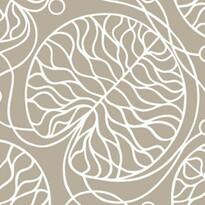 Tapeta Bottna 70 x 100 cm, hnedá/biela