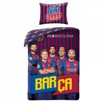 Pościel bawełniana FCB Barca, 140 x 200 cm, 70 x 90 cm