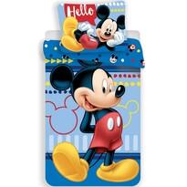 Detské bavlnené obliečky Mickey 004, 140 x 200 cm, 70 x 90 cm