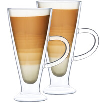 4home Pahare termo Latte Elegante Hot&Cool 230ml, 2 buc.