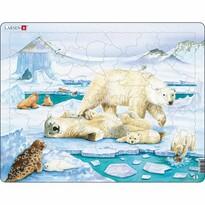 Puzzle Larsen Familie de urşi, 54 piese