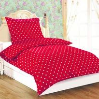 Obliečky Dallas Červená Čiapočka microsatén, 140 x 200 cm, 70 x 90 cm
