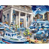 Larsen Puzzle Policja w akcji, 43 części