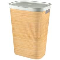 Curver 04761-B45 kosz na bieliznę Infinity 59 l, bambus