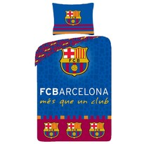Pościel bawełniana FC Barcelona 8010, 140 x 200 cm, 70 x 90 cm