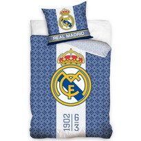 Real Madrid 1902 pamut ágynemű, 140 x 200 cm, 70 x 80 cm