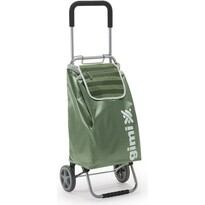 Gimi Flexi nákupná taška na kolieskach zelená