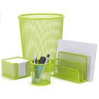 Sada kancelářských potřeb, zelená
