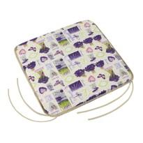Siedzisko Gita gładkie Provence – Bukiet lawendy, 40 x 40 cm
