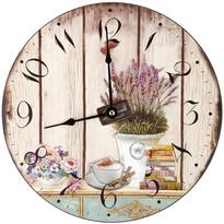 Nástenné hodiny Lavender, 30 cm