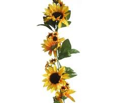Umelá kvetina slnečnica girlanda