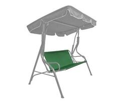 Husă șezut pentru balansoar, verde închis Stripy