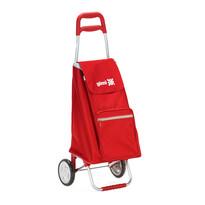 Gimi Argo nákupná taška na kolieskach červená