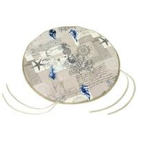 Sedák Gita hladký okrúhly More, 40 cm