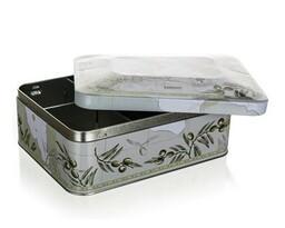 Cutie metalică pentru ceai Banquet Olives