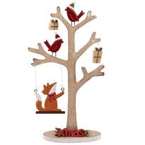 Vianočný drevený stromček Xmas, hnedá