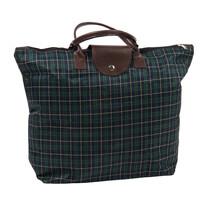 Kostka összecsukható táska, sötétzöld