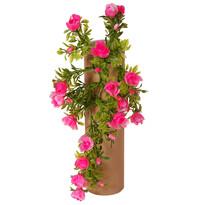 Műrózsa, rózsaszín, 30 cm