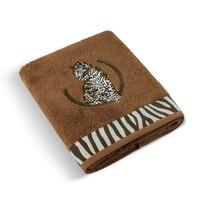 Ręcznik kąpielowy Lampart brązowy