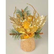 Aranjament Magnolie auriu, 23 cm