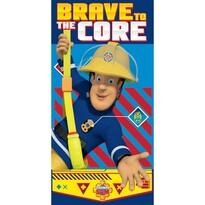 Ręcznik kąpielowy Strażak Sam Brave to the Core, 70 x 140 cm