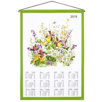 Kalendář 2018 Květové zátiší, 45 x 65 cm