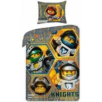 Dziecięca pościel bawełniana Lego Nexo 378, 140 x 200 cm, 70 x 90 cm