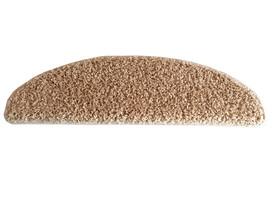 Nášlap na schody Color Shaggy béžová, 24 x 65 cm