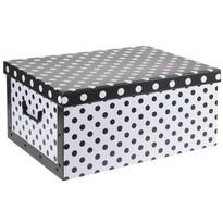 Úložný box Puntík, černá