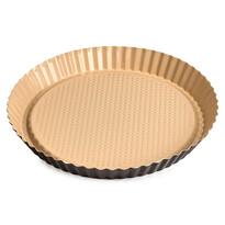 Tavă pentru tartă 4Home, cu suprafața ceramică, maro