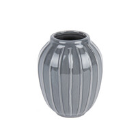 Elegatní váza Lilien šedá, 12 cm