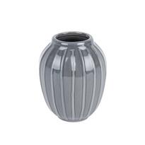Lilien elegáns váza szürke, 12 cm