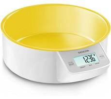 Sencor Kuchynská váha digitálna žltá