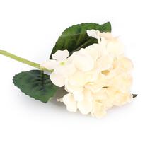 Umelá kvetina Hortenzia biela