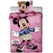 Minnie cool pamut gyerek ágyneműhuzat, 140 x 200 cm, 70 x 90 cm