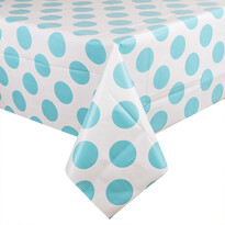 Körök terítő kék, 130 x 180 cm