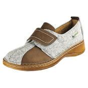 Orto Plus Dámská obuv na suchý zip vel. 39 šedá