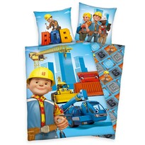 Dětské povlečení Bořek stavitel, 140 x 200 cm, 70 x 90 cm