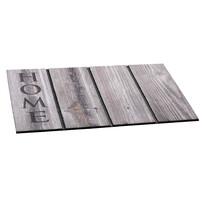 Vonkajšia rohožka Home wood, 46 x 76 cm