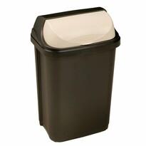 Keeeper Odpadkový koš se zasouvacím víkem Rasmus 25 l, tmavě šedá